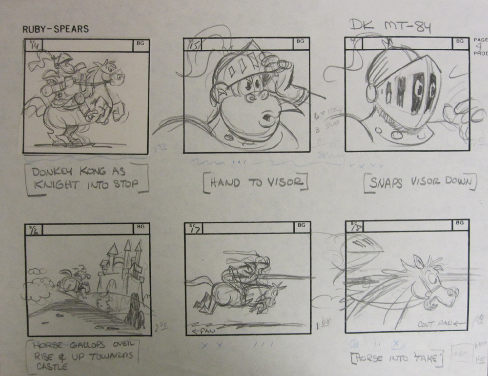 Story Board Donkey Kong 2