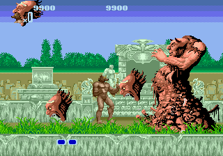 Altered Beast Boss Battle