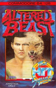 Altered Beast Commodore 64 Box