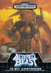 Altered Beast Genesis Box