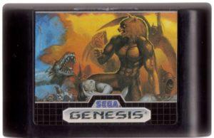 Altered Beast Genesis Cartridge