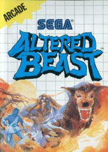 Altered Beast Mega Drive Box