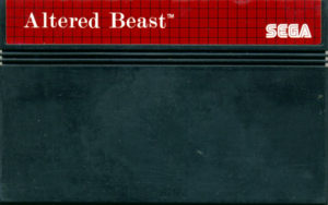 Altered Beast Mega Drive Cartridge