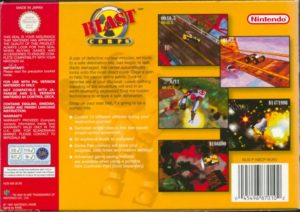 Blast Corps European Box Back