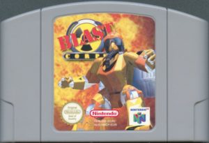 Blast Corps European Cartridge