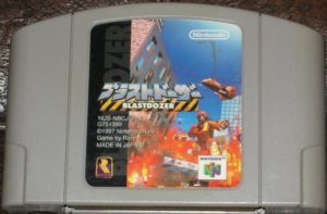 Blast Corps Japanese Cartridge