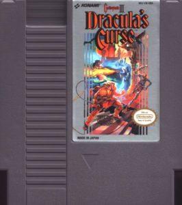 Castlevania III - Dracula's Curse Cartridge