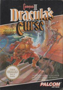 Castlevania III - Dracula's Curse Europe Box