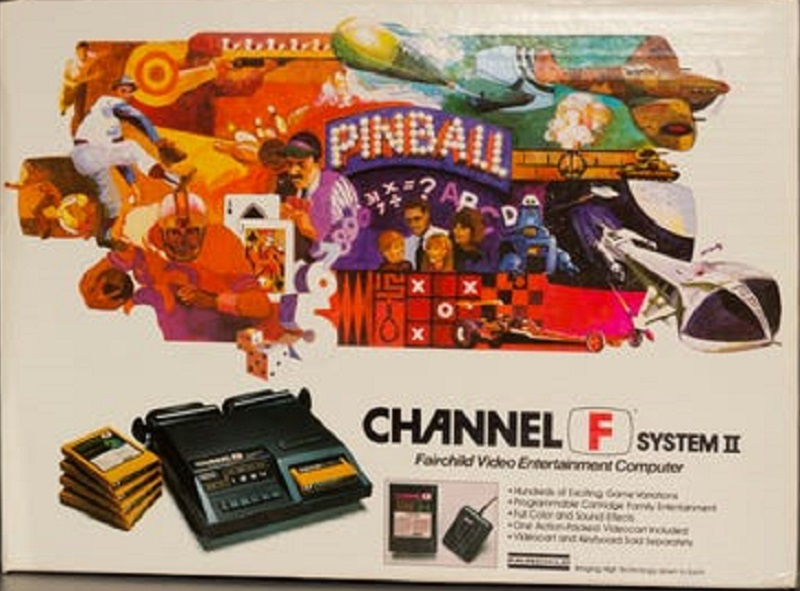Fairchild Channel F System II Box