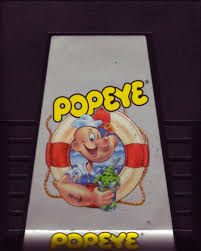 Popeye Atari 2600 Cartridge