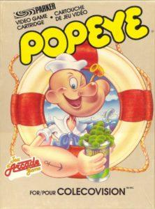 Popeye Colecovision Box