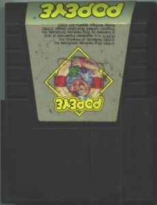 Popeye Commodore 64 Cartridge