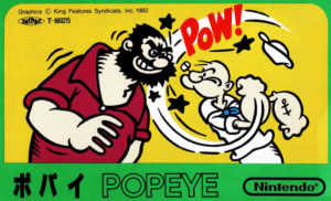 Popeye Famicom Box