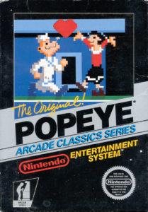 Popeye NES Box
