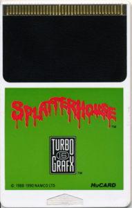 Splatterhouse HuCard