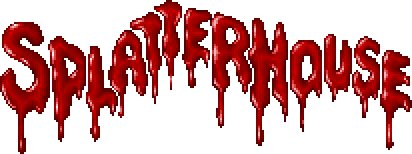 Splatterhouse Logo