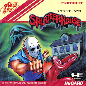 Splatterhouse PC Engine Box