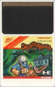 Splatterhouse PC Engine HuCard