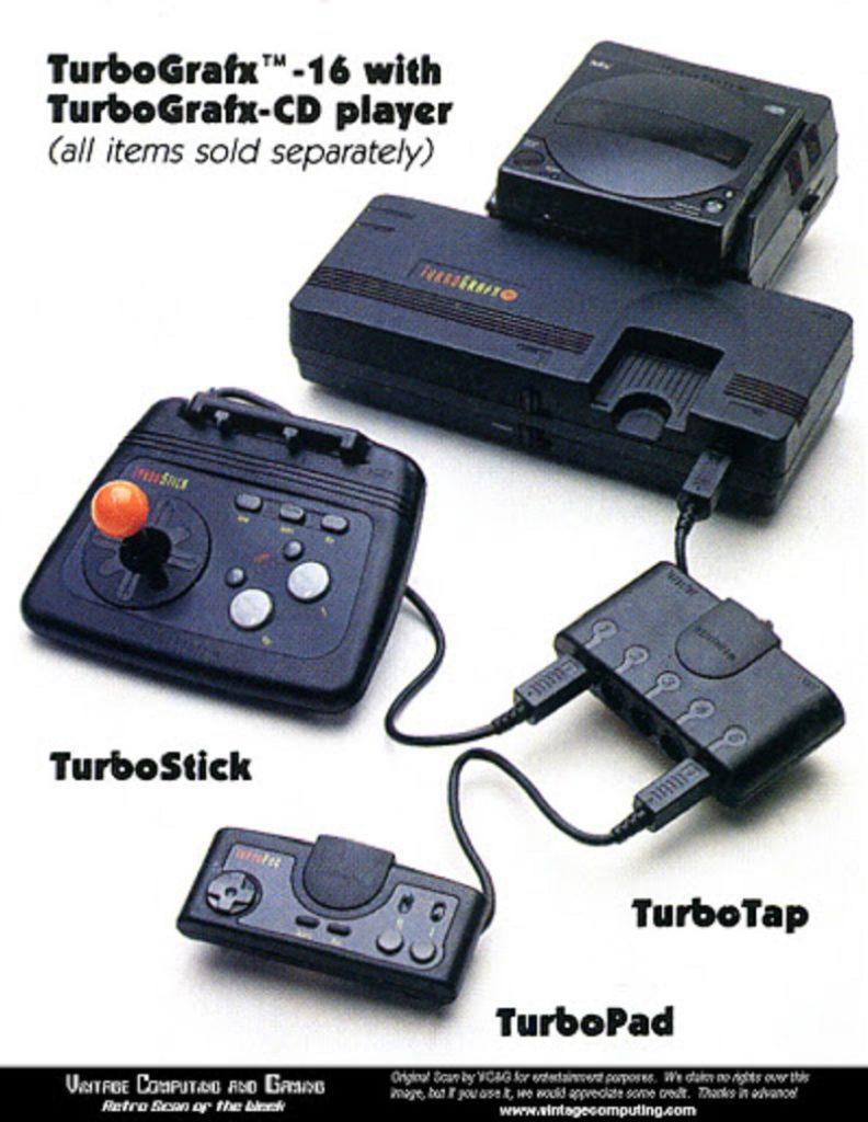 TurboGrafx-16 Ad