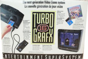 TurboGrafx-16 Box Back