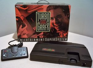 TurboGrafx-16 Console, Controller and Box