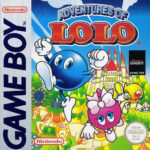 Adventures of Lolo Game Boy Box