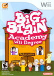 Big Brain Academy Wii Degree Box