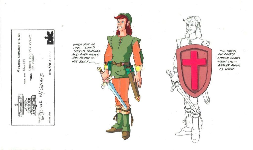 Captain N - Link Model Sheet