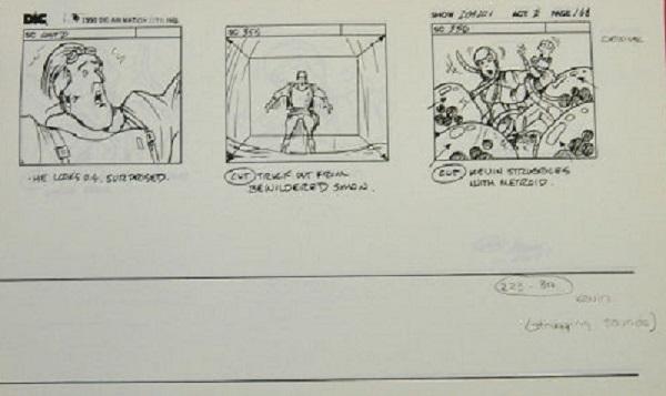 Captain N - Storyboard 1