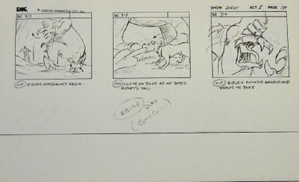 Captain N - Storyboard 2
