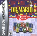 Dr Mario & Puzzle League Box
