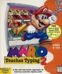 Mario Teaches Typing 2 Box