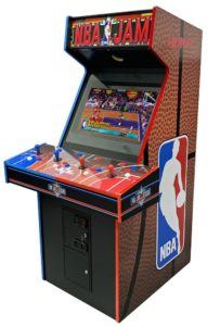 NBA Jam Arcade Cabinet 2