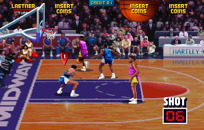 NBA Jam Defence