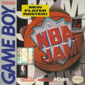 NBA Jam Game Boy Box