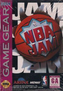 NBA Jam Game Gear Box