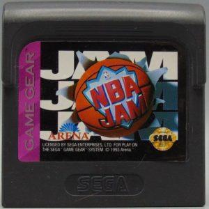 NBA Jam Game Gear Cartridge