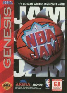 NBA Jam Genesis Box