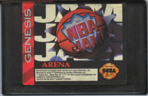NBA Jam Genesis Cartridge