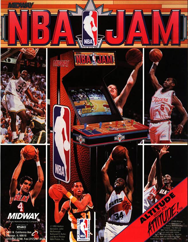 NBA Jam Poster