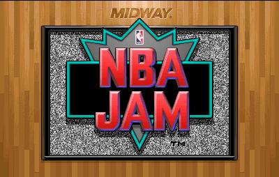 NBA Jam Title Screen