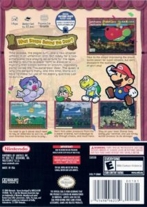 Paper Mario - The Thousand-Year Door Box Back
