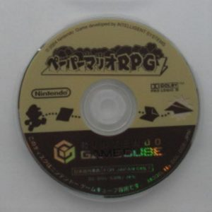 Paper Mario - The Thousand-Year Door Japanese Disc