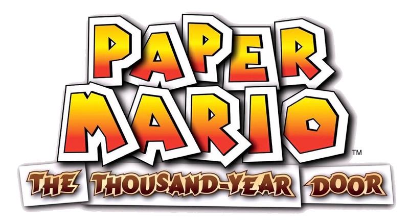 Paper Mario - The Thousand-Year Door - Logo