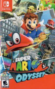 Super Mario Odyssey Box