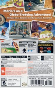 Super Mario Odyssey Box Back