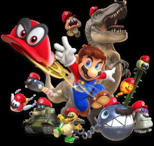 Super Mario Odyssey Capture Mechanic