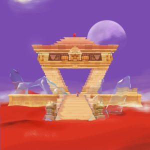 Super Mario Odyssey Concept Art - Desert