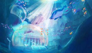 Super Mario Odyssey Concept Art - Underwater
