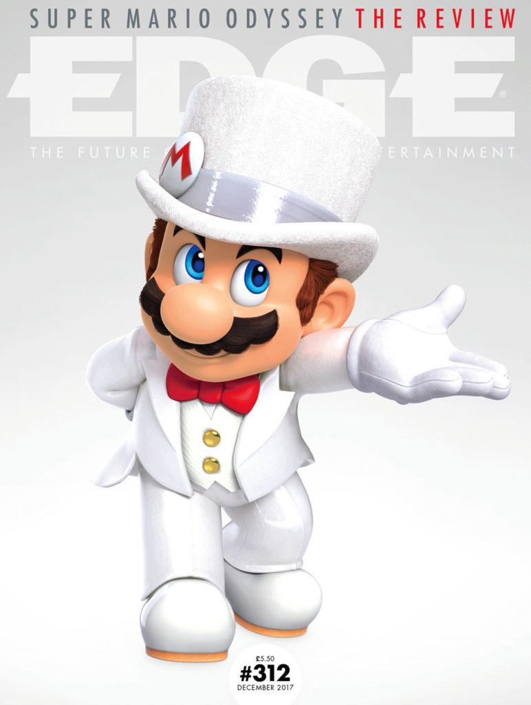 Super Mario Odyssey Edge Magazine